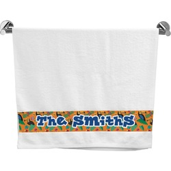 Toucans Bath Towel (Personalized)