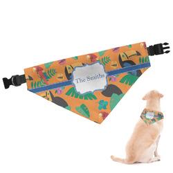 Toucans Dog Bandana (Personalized)