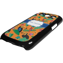 Toucans Plastic Samsung Galaxy 3 Phone Case (Personalized)