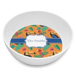 Toucans Melamine Bowl - 8 oz (Personalized)