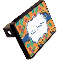 """Toucans Rectangular Trailer Hitch Cover - 2"""" (Personalized)"""