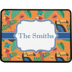 Toucans Rectangular Trailer Hitch Cover (Personalized)
