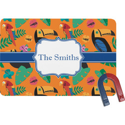 Toucans Rectangular Fridge Magnet (Personalized)