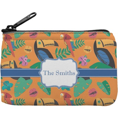 Toucans Rectangular Coin Purse (Personalized)