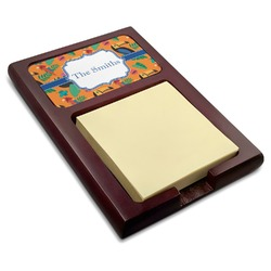 Toucans Red Mahogany Sticky Note Holder (Personalized)