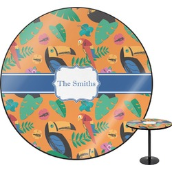 Toucans Round Table (Personalized)