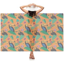 Toucans Sheer Sarong (Personalized)