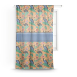 Toucans Sheer Curtains (Personalized)