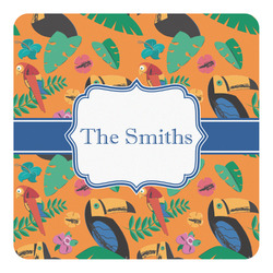 Toucans Square Decal - Custom Size (Personalized)