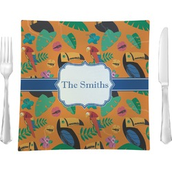 Toucans Square Dinner Plate (Personalized)