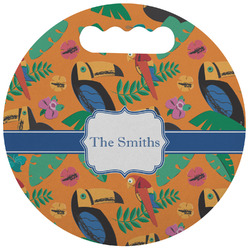 Toucans Stadium Cushion (Round) (Personalized)