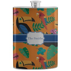 Toucans Stainless Steel Flask (Personalized)