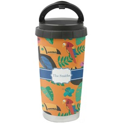 Toucans Stainless Steel Coffee Tumbler (Personalized)