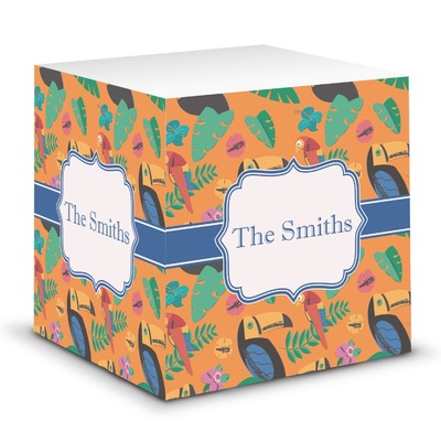 Toucans Sticky Note Cube (Personalized)