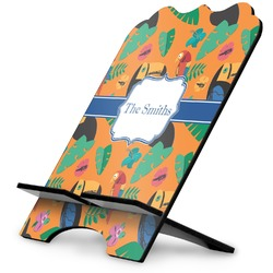Toucans Stylized Tablet Stand (Personalized)