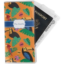 Toucans Travel Document Holder