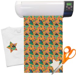 "Toucans Heat Transfer Vinyl Sheet (12""x18"")"