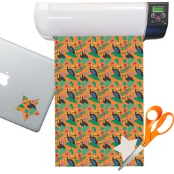 Toucans Sticker Vinyl Sheet (Permanent)