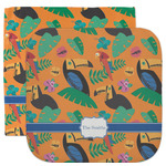 Toucans Facecloth / Wash Cloth (Personalized)