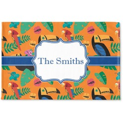 Toucans Woven Mat (Personalized)
