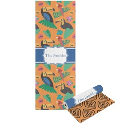 Toucans Yoga Mat - Printable Front and Back (Personalized)