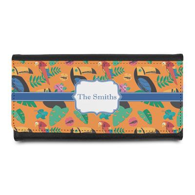 Toucans Leatherette Ladies Wallet (Personalized)