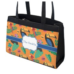 Toucans Zippered Everyday Tote (Personalized)