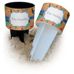 Toucans Beach Spiker Drink Holder (Personalized)
