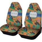 Toucans Car Seat Covers (Set of Two) (Personalized)