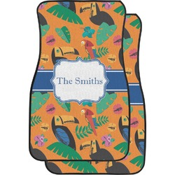 Toucans Car Floor Mats (Front Seat) (Personalized)