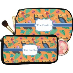 Toucans Makeup / Cosmetic Bag (Personalized)