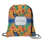 Toucans Drawstring Backpack (Personalized)