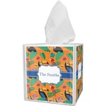 Toucans Tissue Box Cover (Personalized)