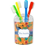 Toucans Toothbrush Holder (Personalized)