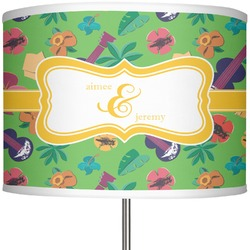 """Luau Party 13"""" Drum Lamp Shade (Personalized)"""