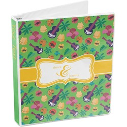 Luau Party 3-Ring Binder (Personalized)
