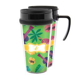 Luau Party Acrylic Travel Mugs (Personalized)