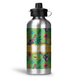 Luau Party Water Bottle - Aluminum - 20 oz (Personalized)