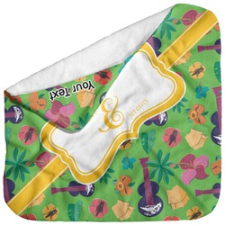 Luau Party Baby Hooded Towel (Personalized)