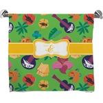 Luau Party Full Print Bath Towel (Personalized)