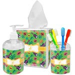 Luau Party Bathroom Accessories Set (Personalized)
