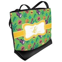 Luau Party Beach Tote Bag (Personalized)