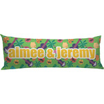 Luau Party Body Pillow Case (Personalized)