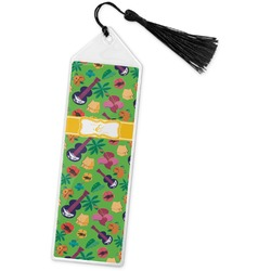 Luau Party Book Mark w/Tassel (Personalized)