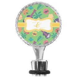 Luau Party Wine Bottle Stopper (Personalized)