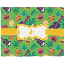 Luau Party Placemat (Fabric) (Personalized)