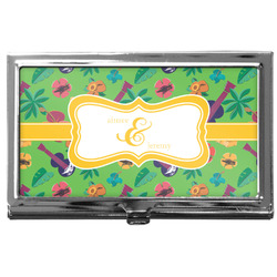 Luau Party Business Card Holder
