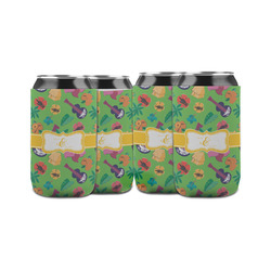 Luau Party Can Sleeve (12 oz) (Personalized)