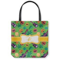 Luau Party Canvas Tote Bag (Personalized)