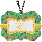 Luau Party Rear View Mirror Charm (Personalized)